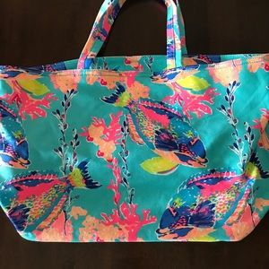 Lily Pulitzer beach tote bag – brand new